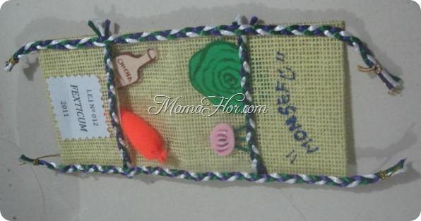 Souvenirs de Alforja Elaborado con Yute