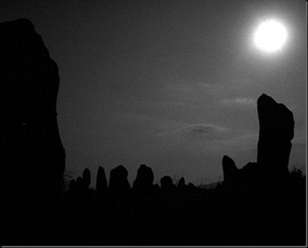 Carahunge full moon