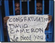 Prisoners in West Papua