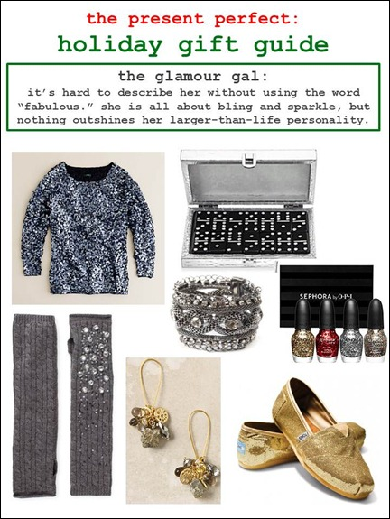 2011.12.01 - Holiday Gift Guide - The Glamour Gal