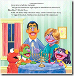 Elmo's Little Dreidel, by Naomi Kleinberg
