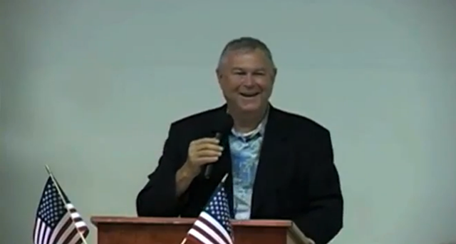 Rep. Dana Rohrabacher (R-Calif.) told constituents on 12 August 2013 that climate change 'is a total fraud' designed by liberals to create 'global government'. Now Rohrabacher wants to have a public debate where he would presumably be expected to present facts that could help him prove this statement. Photo: The Nation