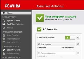 descargar antivirus gratis avira 2013