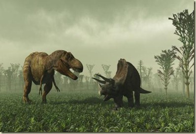 trex-triceratops