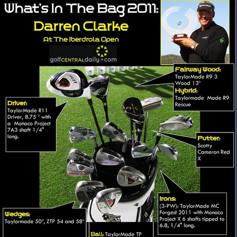 What's In The Bag 2011 Darren Clarke