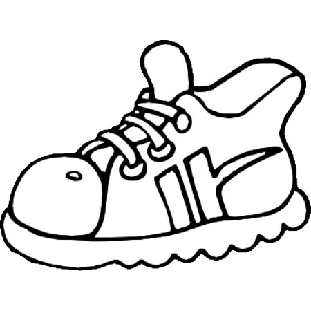 Dibujos Para Pintar Zapatillas - Dibujos Para Pintar