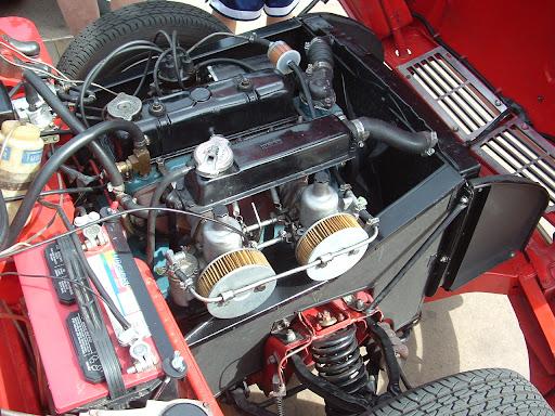 1966 Triumph Spitfire - engine