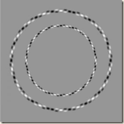 two perfectly round circles isn't it