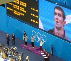 Michael Phelps wins again