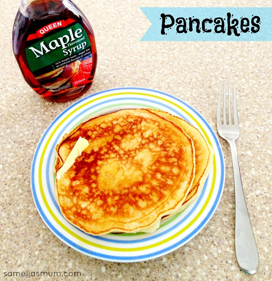 how to make pancakes from scratch without milk and eggs