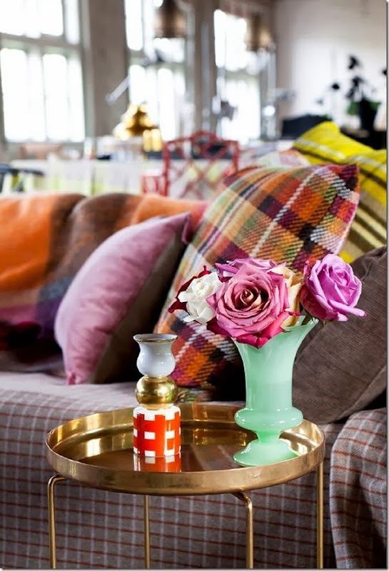 tendenza tartan - home decor - arredamento (8)