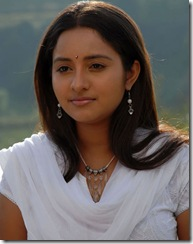 Bhama in white dress