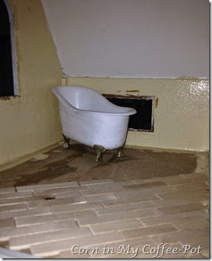 bathtub 2 and tile floor
