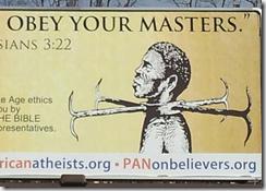 Рабы, во всем покоряйтесь господам вашим