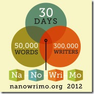 NaNoWriMo 2012 Badge