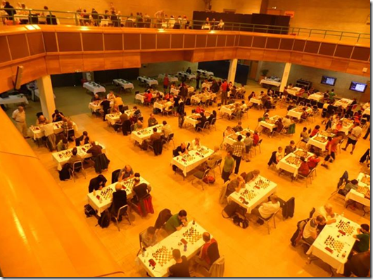 Playing Hall, British Chess Championship 2013