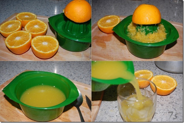 Orange juice process