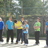 Boys having a laugh at the Junior West of Ireland, Sligo Tennis Club