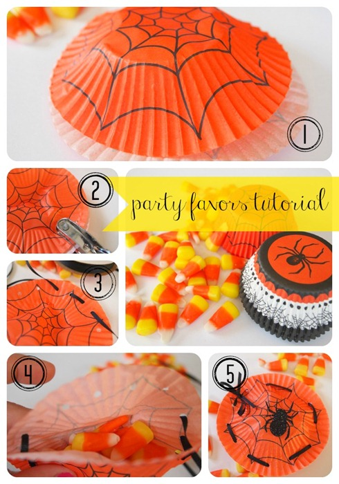 spider party favors tutorial