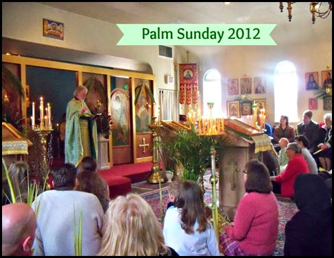 Palm Sunday Homily from 2012