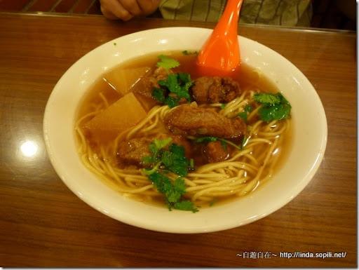 萬華艋舺‧四方阿九魯肉飯-排骨酥麵