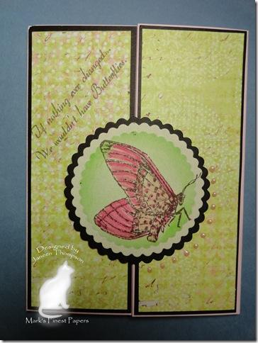 gatefold butterfly