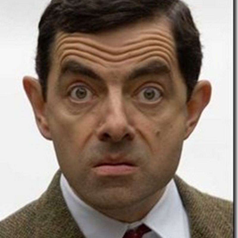 Mr. Bean jadi hantu pocong la di Indonesia  !