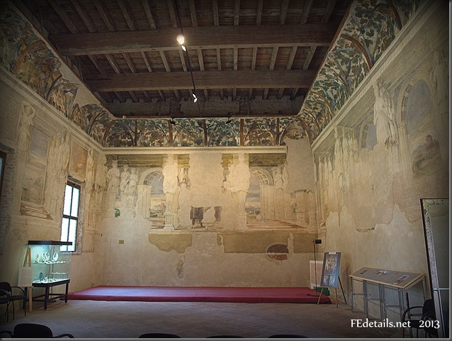 La Sala delle Vigne di Belriguardo, Voghiera,Ferrara,Italia - The Hall of the vineyards of Belriguardo Voghiera, Ferrara, Italy,photo1