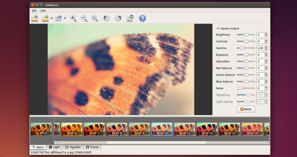 XnRetro in Ubuntu Linux