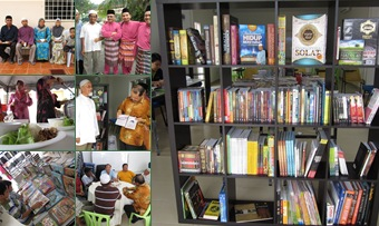 View Raya Al Ulum & Soft Launch Jom Baca 2011