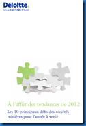 À l'affût des tendances de 2012