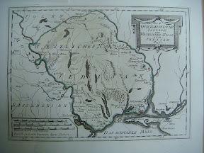 Карта территории, занятой Едисанской ордой. Издана в Вене в 1790 г.
