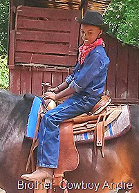 Party on the ranch - Andre laid back cowby