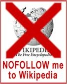 Wikipedia Links has Nofollow Tag