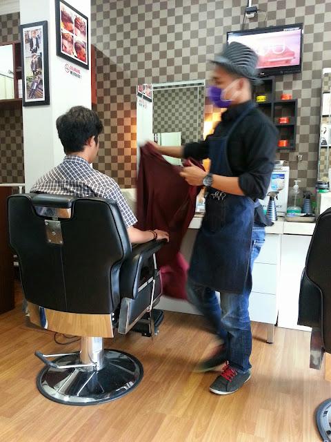 Agungeko Tripsteeer My Classy Barbershop