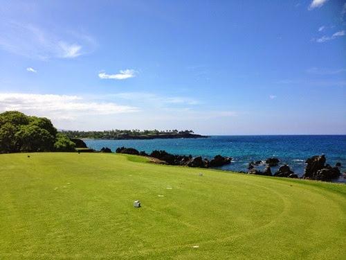 ハワイ島のゴルフ