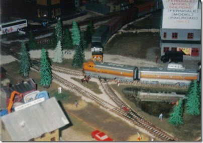 15 Ferndale Model Railroad at GATS in Portland, Oregon in October 1998