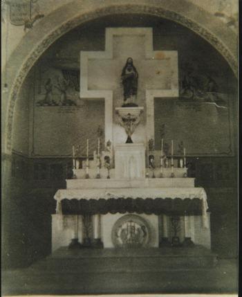 ALTAR-MOR, IGREJA MATRIZ, SAGRADO EM 27.OUT de 57