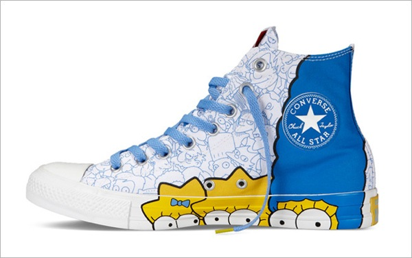 Simpsons Sneakers converse 2