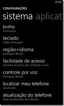 Mude o idioma para English (United States)