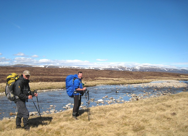 PHIL & ANDY, THE UPPER UPPER FESHIE & CAIRNGORMS