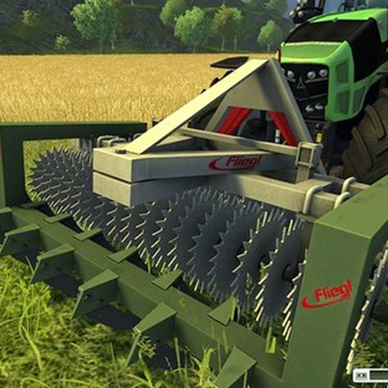 Farming simulator 2013 - Fliegl Frontroller Cultivator v 1.1MR Fix