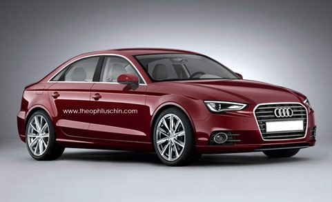 Auto Gallery Audi A Sedan Coming To India At The End Of - Audi sedan models