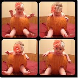 in the pumpkin collage