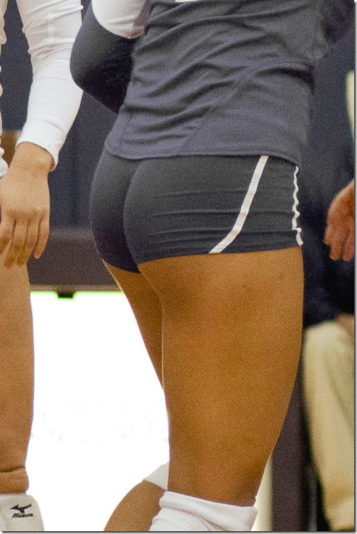 sexy girls volleyball shorts 9