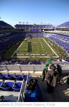 'Ravens Stadium II' photo (c) 2009, Kevin Galens - license: http://creativecommons.org/licenses/by-sa/2.0/
