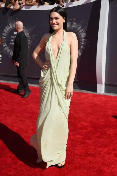 Jessie J Arrivals MTV Video Music Awards Part