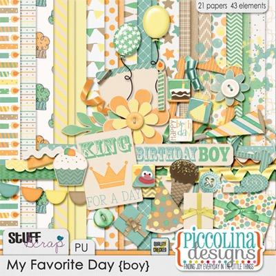 PD My Favorite Day (boy) Preview