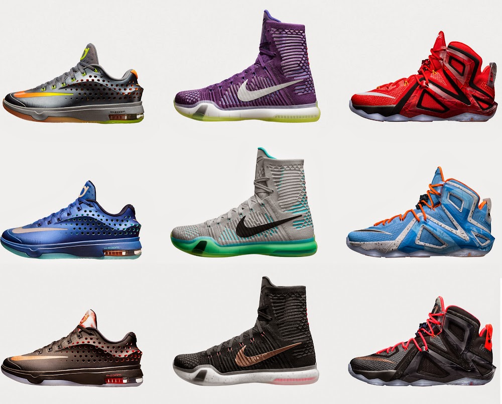 ... Nike Intoduces Elite Versions of LeBron 12 KD 7 Kobe 10