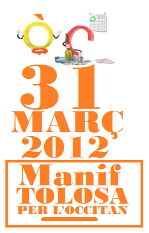 Manif Tolosa 31 març per l'occitan google